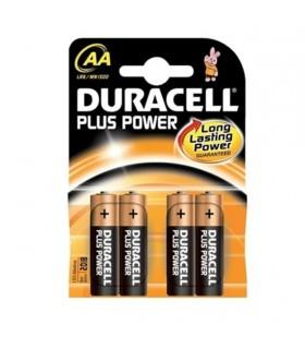 PILA DURACELL PLUS POWER LR-06 AA (4 UND)